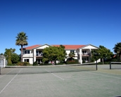 Pacific Palms Resort features 2 tennis courts
