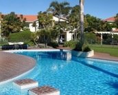20-metre swimming pool with children's area, family holiday accommodation at Pacific Palms Resort, Papamoa