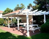 BBQ areas at Pacific Palms Resort are perfect for Family Holidays in Mt Maunganui