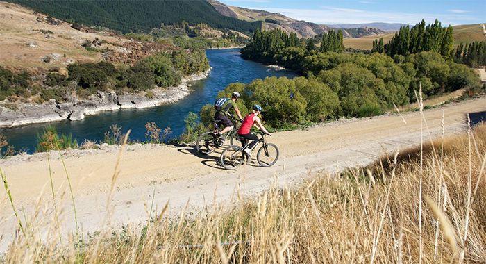 enjoy beautiful views while riding