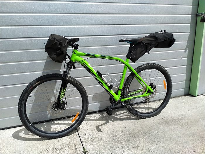 bikes are delivered to your accommodation
