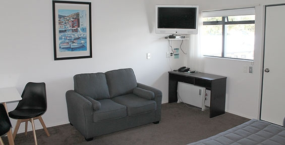 air conditioning available in all large studio rooms