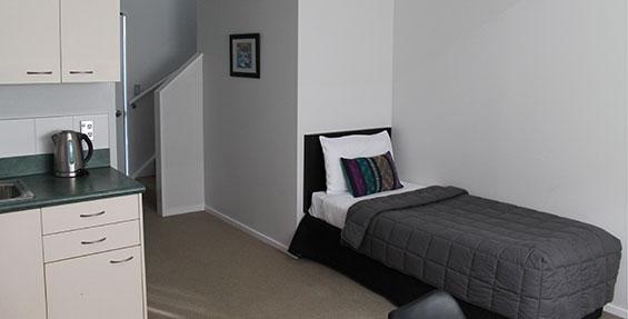 double storey one-bedroom suite
