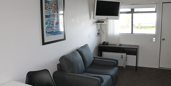 flatscreen TV with Sky Guest Select with 50+ channels