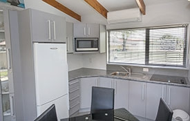 full cooking facilities in Family apartments