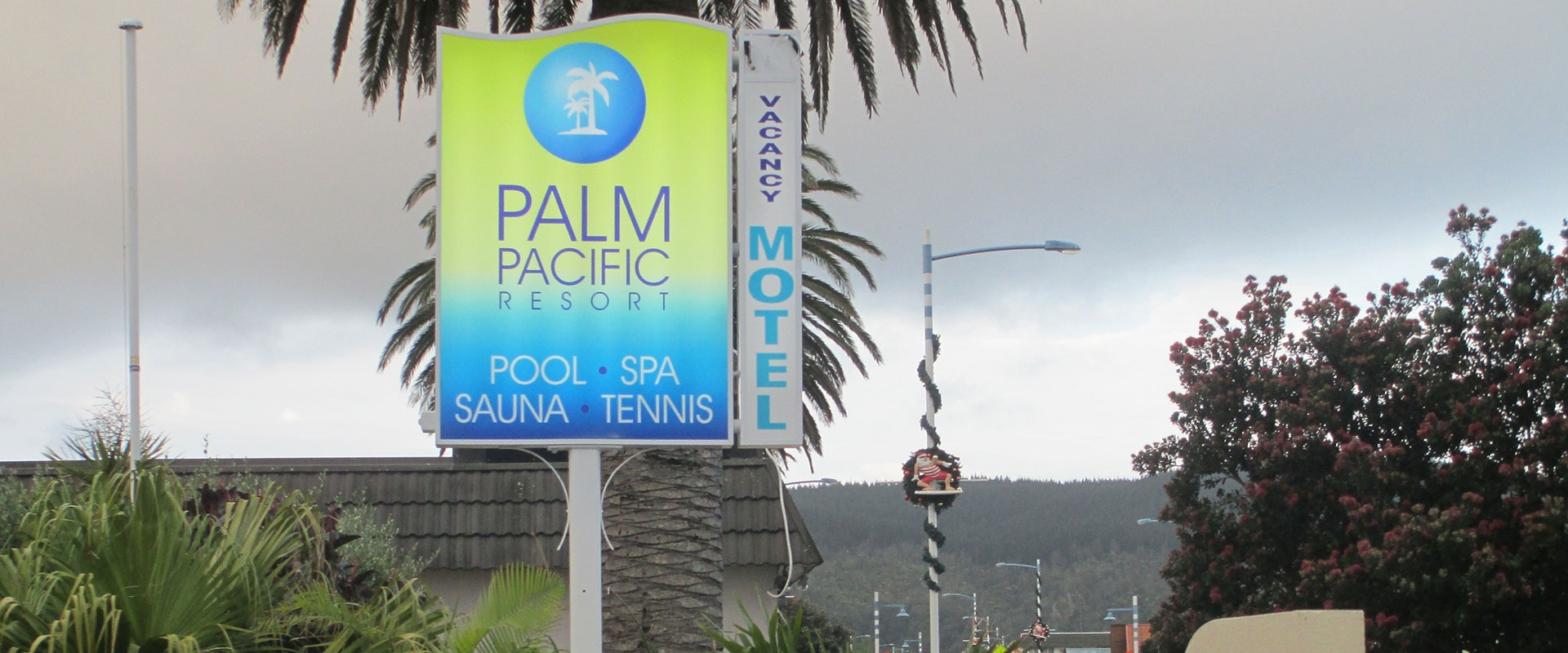 Palm Pacific Resort & Motel in Whangamata