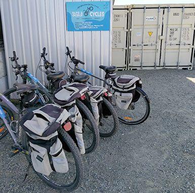 Comfortable rental bikes