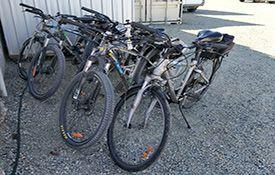 Alps 2 Ocean Cycle Trail bikes