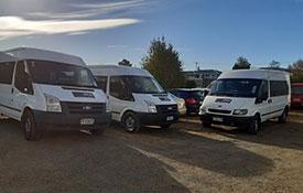 hire minibus in Oamaru
