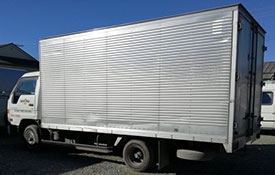 rental trucks at Hireplus