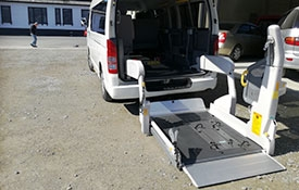 safe and reliable disability van