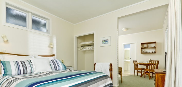 clean and comfortable queen-size beds