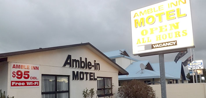 Amble Inn Motel in Levin