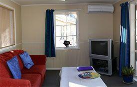 honeymoon suite living area