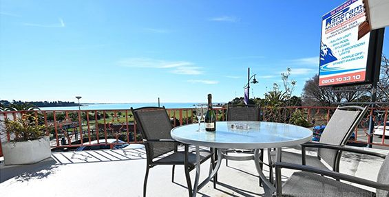 superior 1-bedroom suite balcony