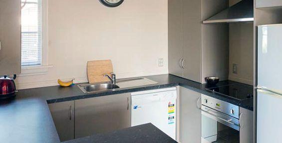 2-bedroom apt (d) kitchen
