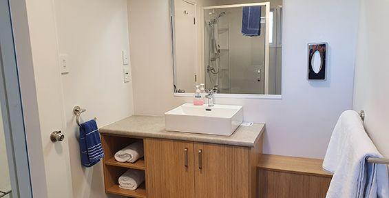 superior 1-bedroom suite bathroom