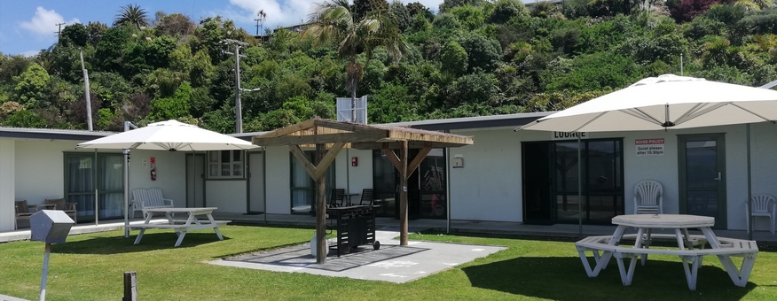 Kawhia beachside motel accommodation