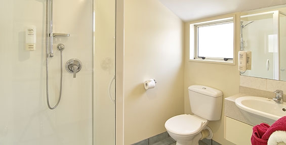 private bathroom of 1-bedroom suite
