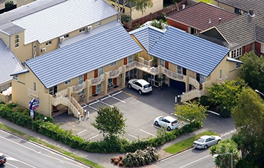 Motel location in Riccarton Christchurch