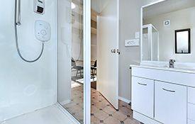 2-bedroom unit bathroom