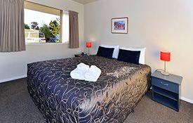 1-bedroom unit bedroom