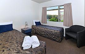 2-bedroom unit bedroom