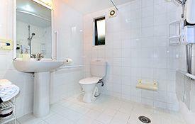 access studio unit bathroom