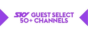 sky guest select with 50+ channels