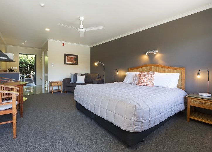 spacious and clean accommodation