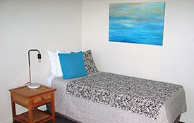 Studio unit can accommodation 3 guests