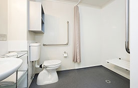 studio unit with access facilities