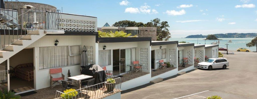 Paihia accommodation with beautiful seaviews