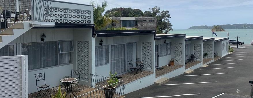 Paihia accommodation with beautiful seaviews
