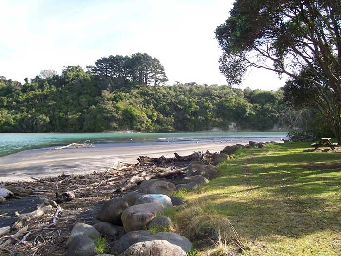 Urenui Bay beach