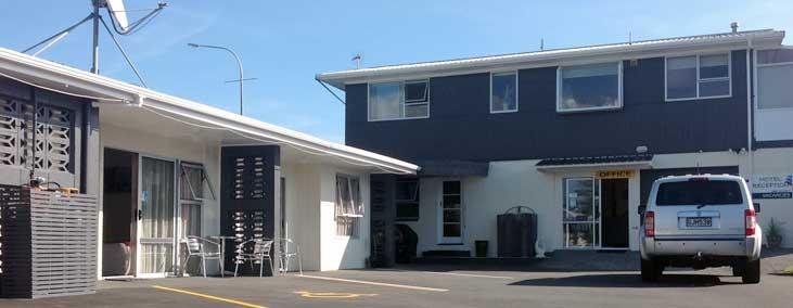 our motel complex in Taranaki
