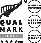 Qualmark Silver 4 Star Plus