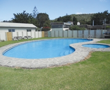 Image of a swimming pool at Casa Blanca Motel Whangarei