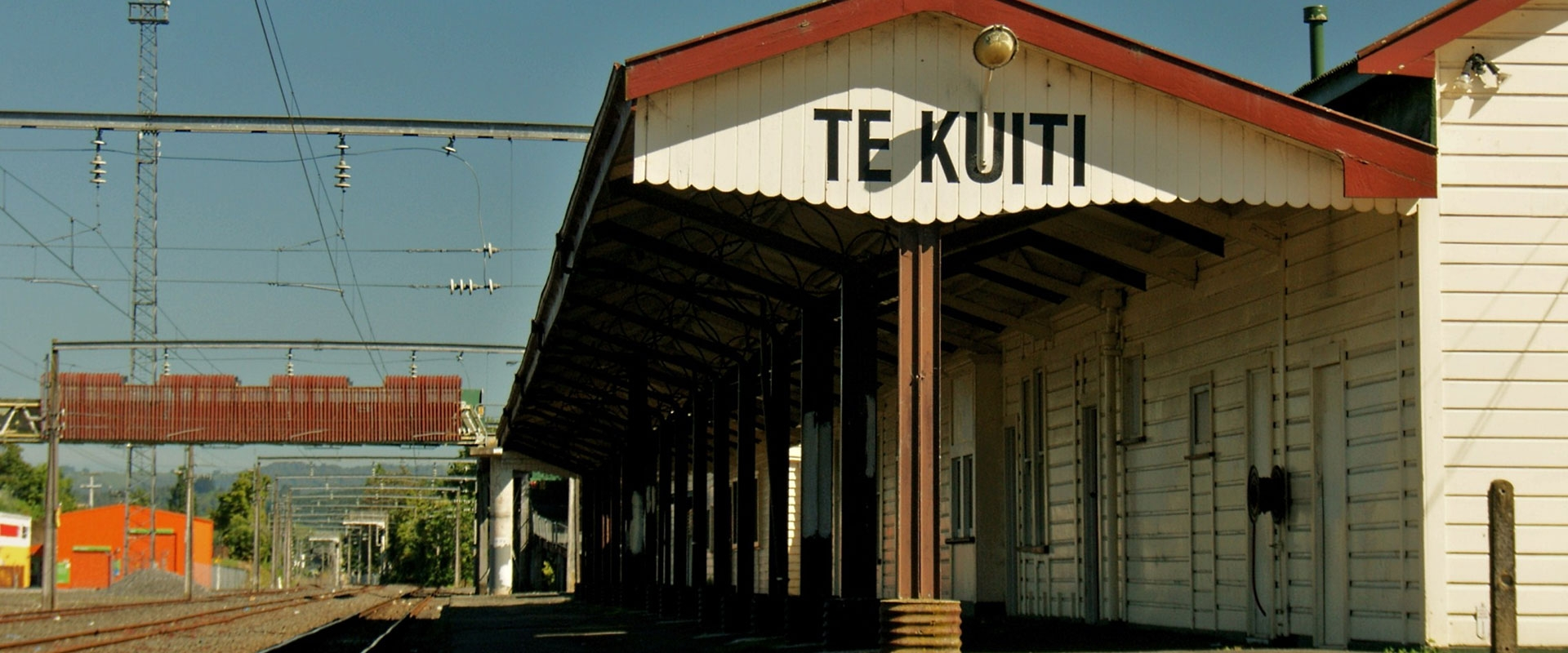 Te Kuiti train station