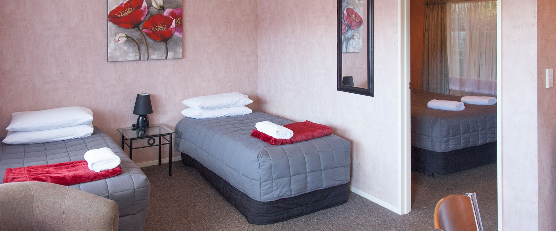 comfortable accommodation at affordable rates