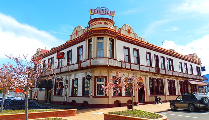 The Feilding Hotel accommodation