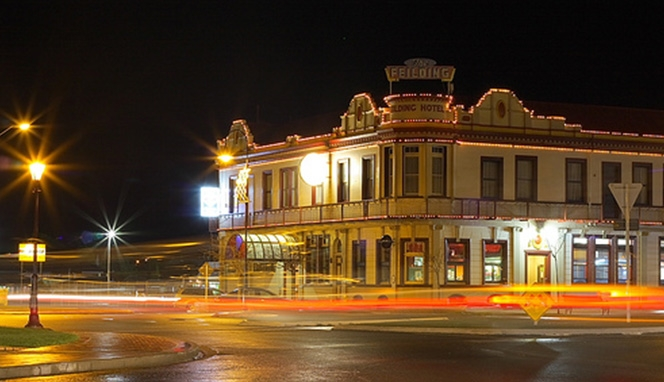 affordable accommodation at The Feilding Hotel