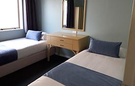 large two-bedroom family suite single beds