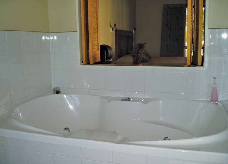 large double spa bath