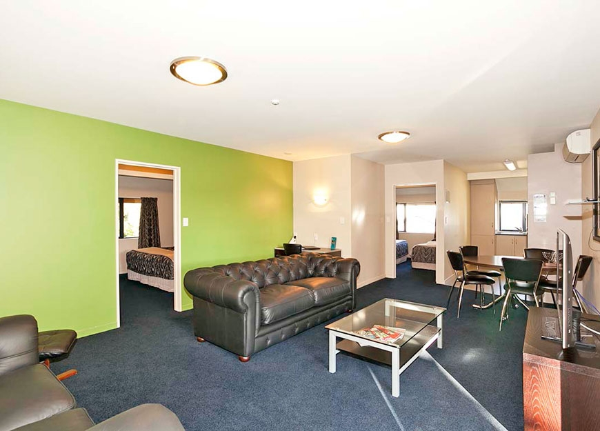fully self-contained Christchurch accommodation