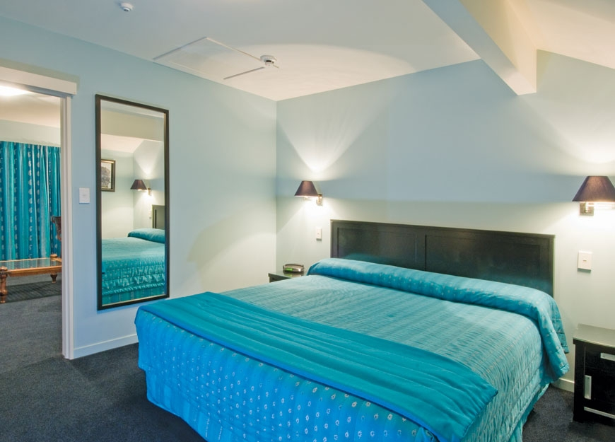 super king-size beds in all rooms