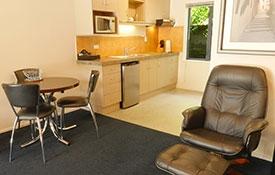kitchen of standard studio