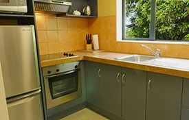 fully-equiped kitchen of 2-bedroom apartment