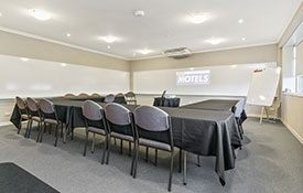 conference venue can accommodate up to 35 people