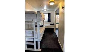 dorm rooms for budget travellers